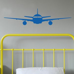 aeroplane wall sticker jumbo jet wall sticker boys bedroom
