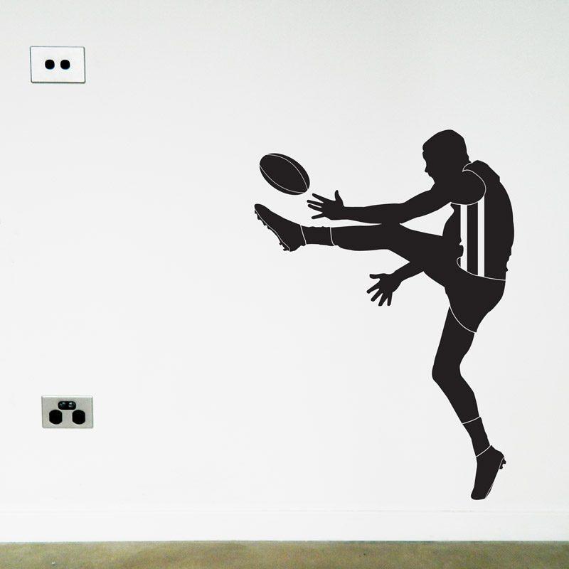 australian football player carlton wall sticker