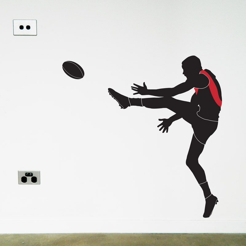 af footy player essendon wall sticker