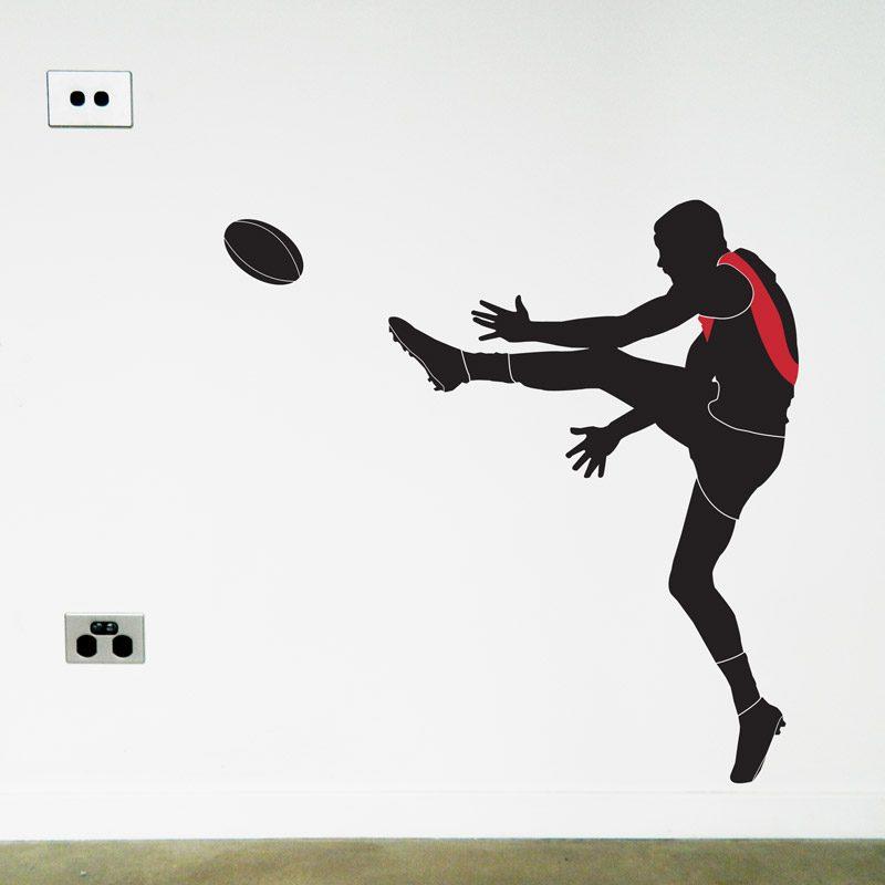af footy player essendon wall sticker