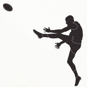 Australian Football Player Wall Decal