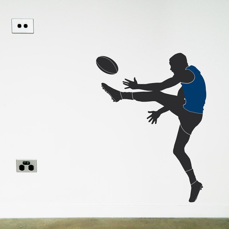 australian football player carlton wall sticker