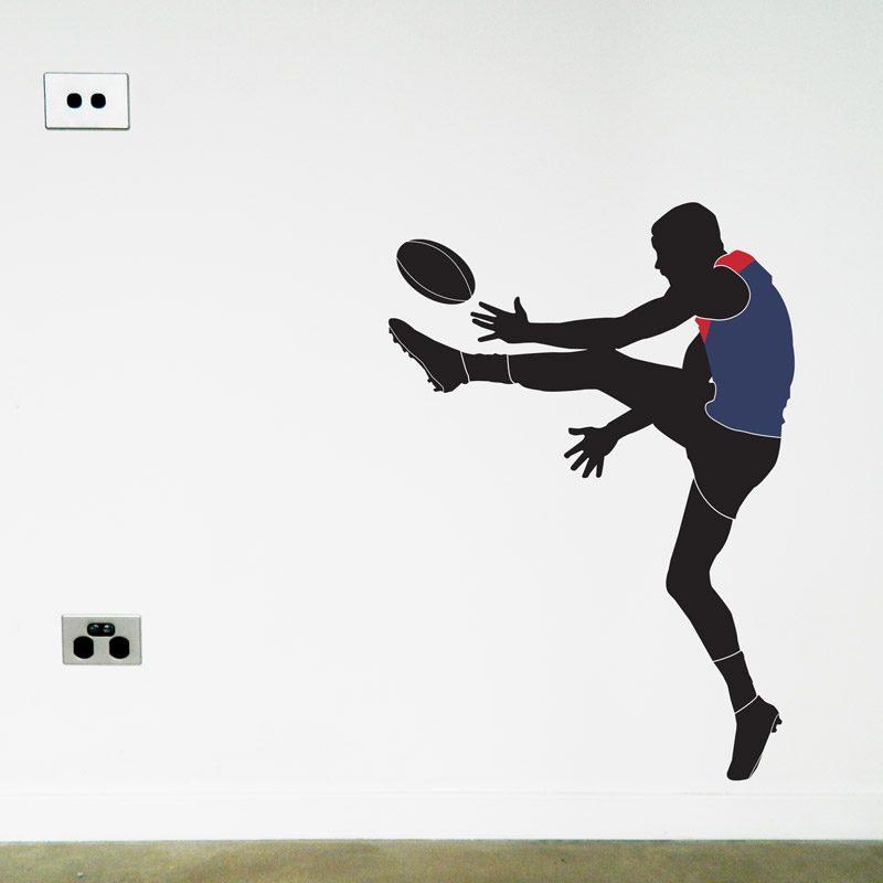 australian football player north melbourne wall sticker