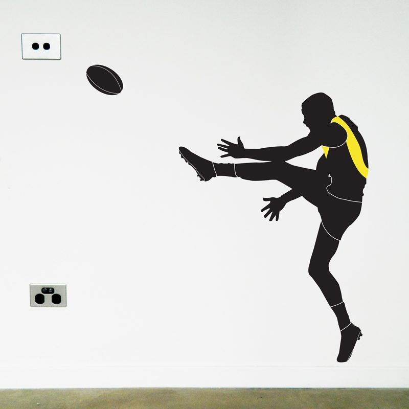 australian football player richmond wall sticker