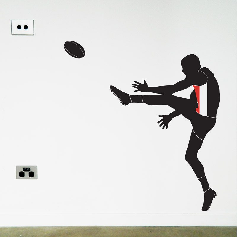St Kilda Football Wall Decal