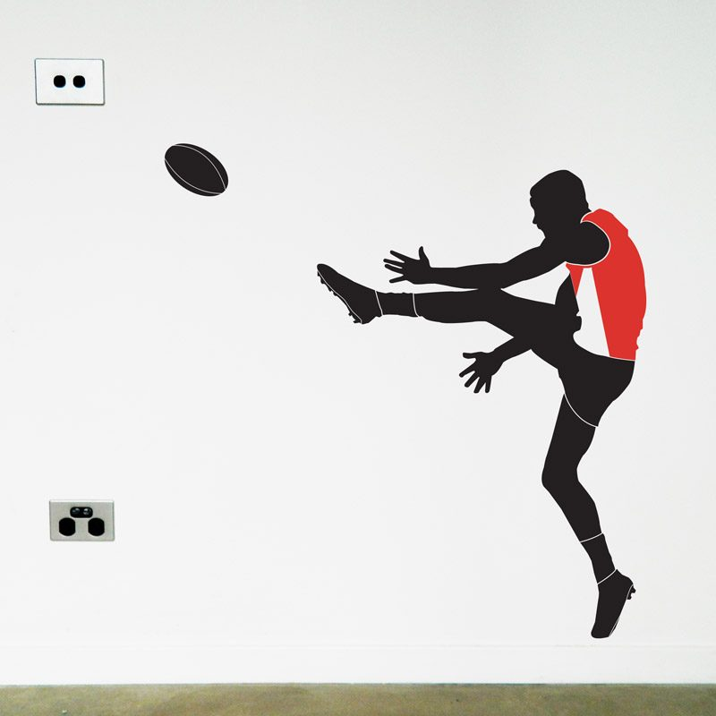 afl footy player wall sticker sydney swans
