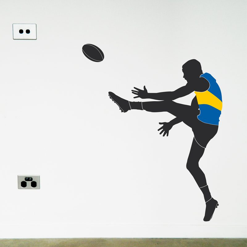 australian football player west coast eagles wall sticker