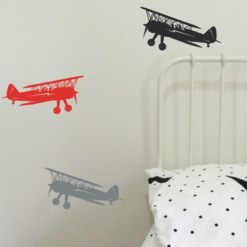 airplane show wall decals