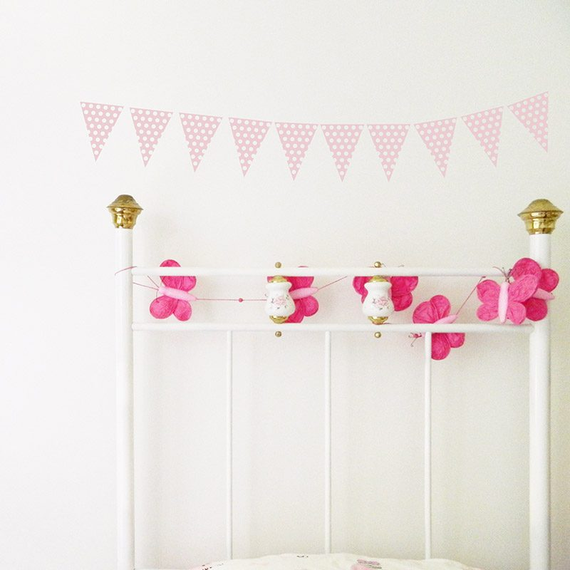 removable bunting decals