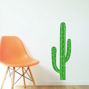 cacti wall sticker