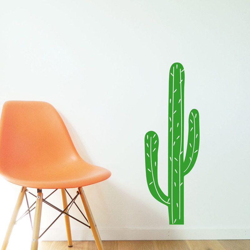 cacti wall sticker