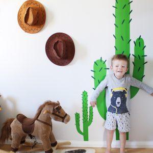 Kids Walls Cactus Wall Sticker Kid's Space Bedroom