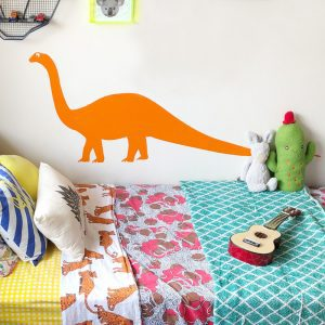 dinosaur wall decal long neck