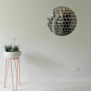 Disco Ball Wall Sticker mirrorball wall decal