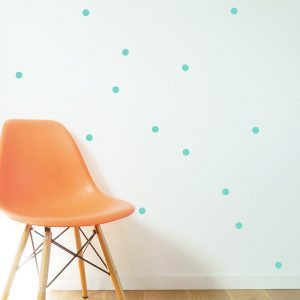 random dots wall kids bedrooms