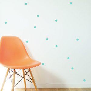 Dot Wall Stickers random dots wall kids bedrooms