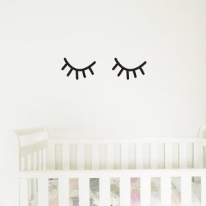 eyelashes wall stickers