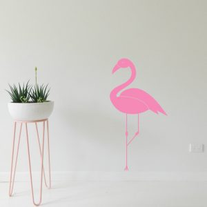 Flamingo Wall Sticker pink flamingo decor