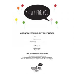gift voucher for wall decals