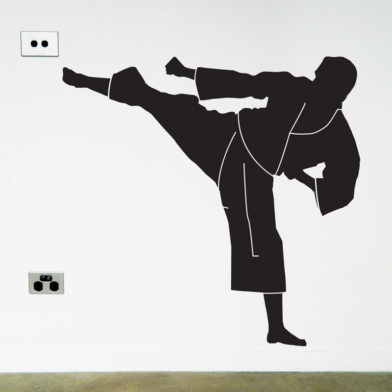 Karate Wall Sticker martial arts wall decal