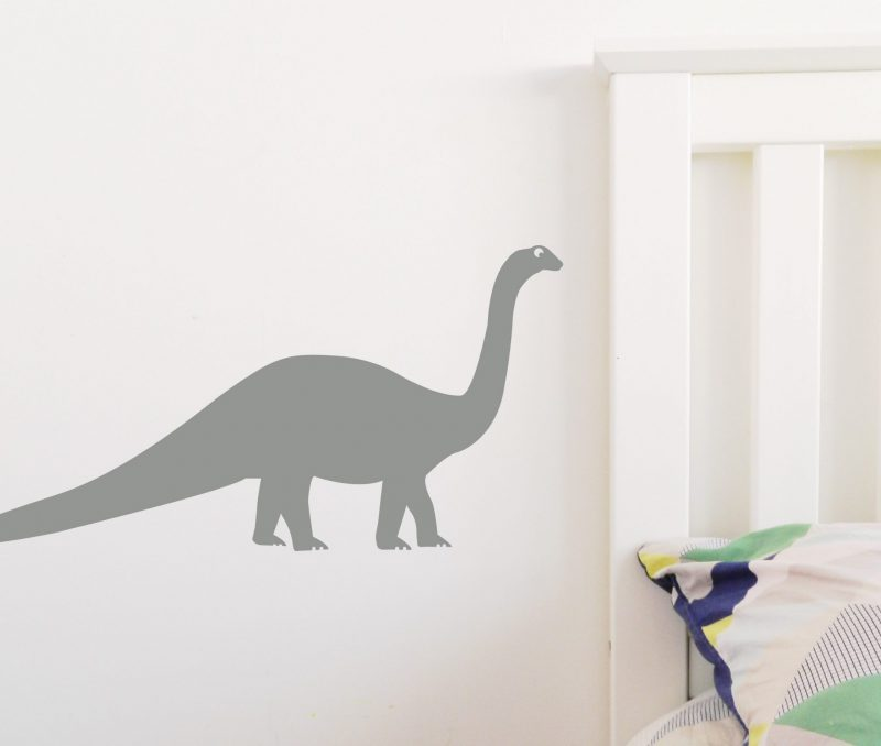 dinosaur long neck grey