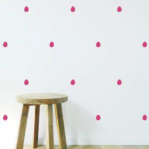 Rain Drops Wall Sticker pattern wall paper rain drops wall pattern stickers