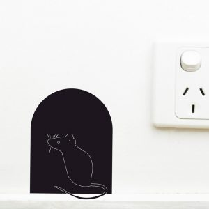 Mouse Hole Wall Sticker mouse hole wall decal