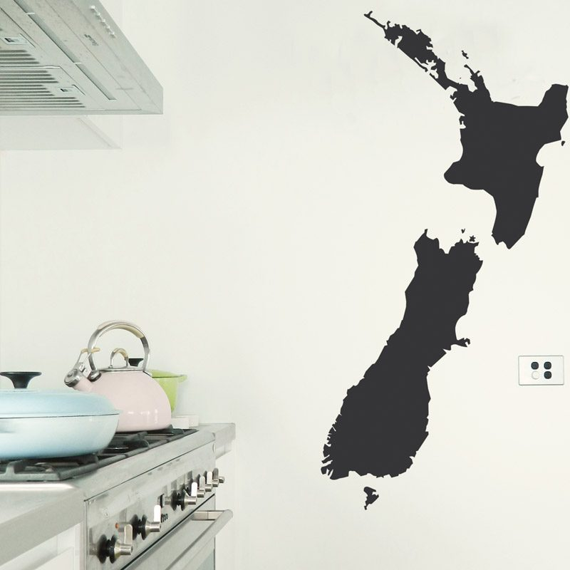 new zealand chalkboard wall sticker wall art