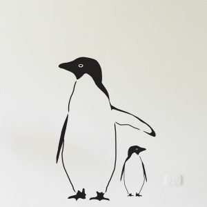 Penguin Wall Sticker penguins for nursery walls