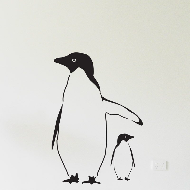 penguins for nursery walls