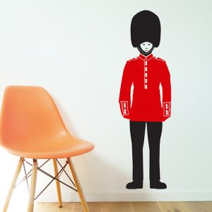 buckingham palace guard decal