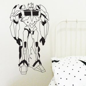 robots wall sticker transformer wall decal