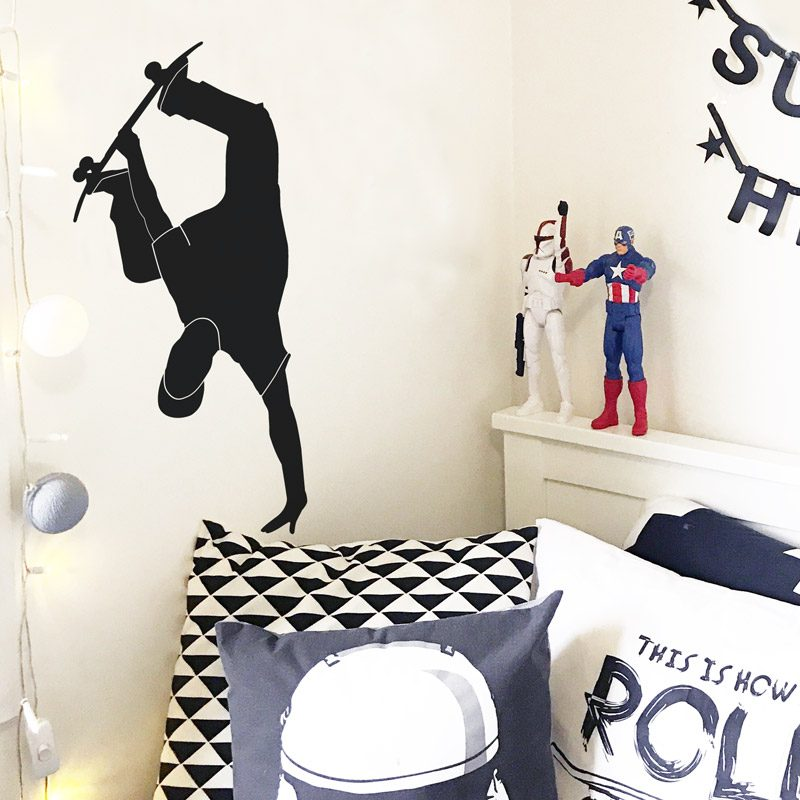 handplant skater wall decal