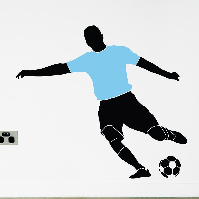 soccer player Melbourne city wall decal