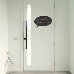 speech bubble chalkboard wall sticker blackboard speech bubble wall decal