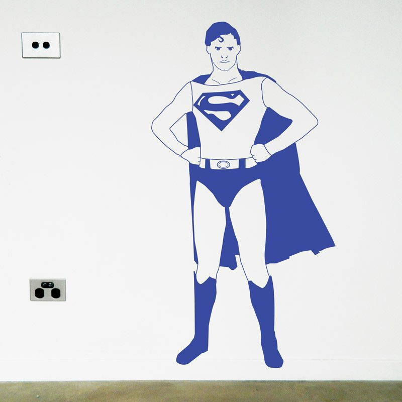 comic book hero wall art