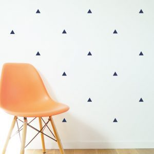 Triangle wall stickers shapes wall decals