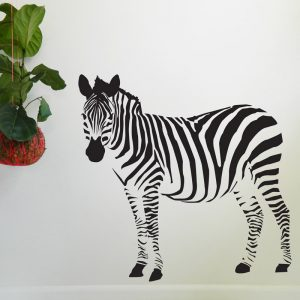 zebra nursery wall decal