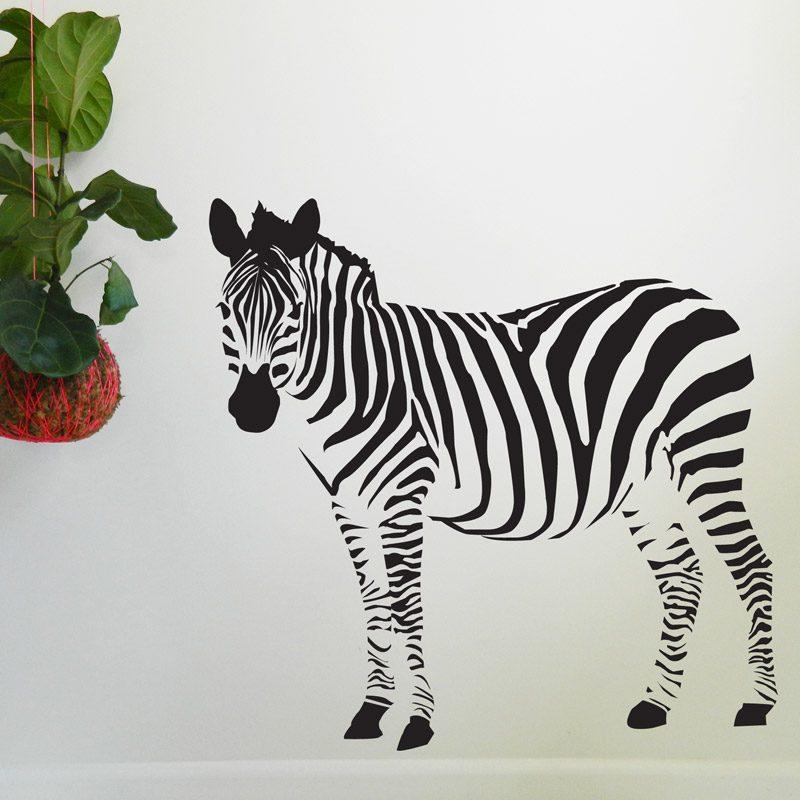 Zebra Wall Sticker zebra nursery wall decal