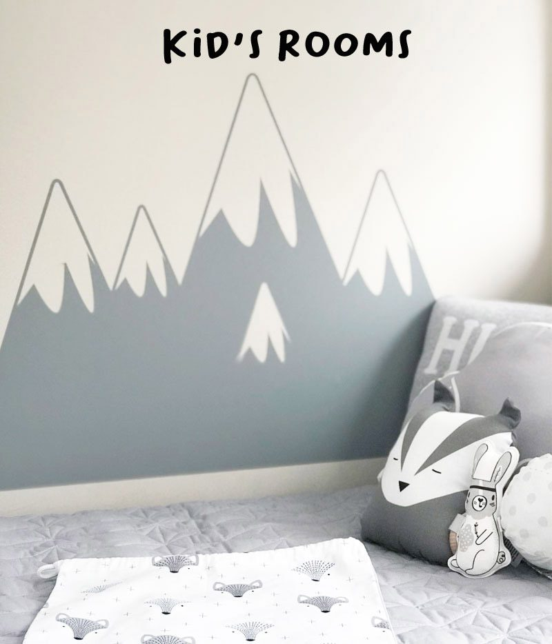 kids's wall stickers decals