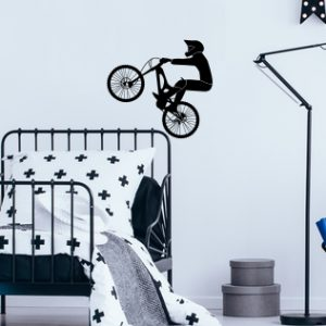 mountain bike wall decal