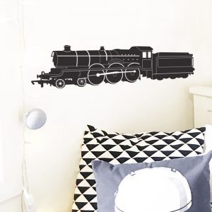 steam train wall sticker jacobite hogwarts express