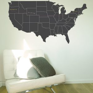 usa chalkboard wall sticker