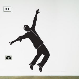 tap dancer wall sticker