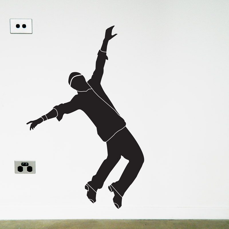tap dancer wall sticker
