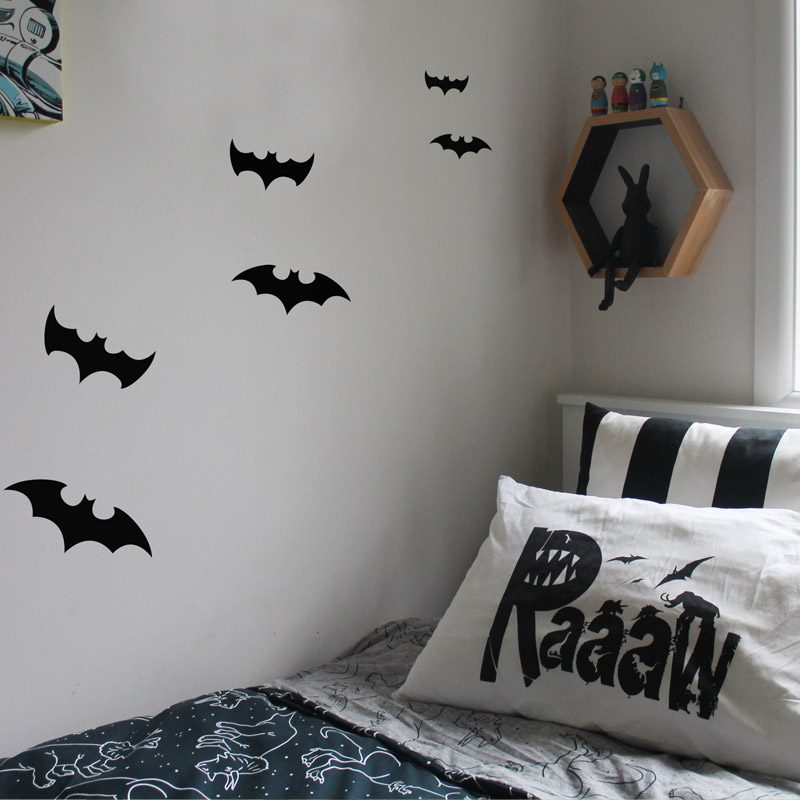 bat wall stickers | removable wall decals | made in australia