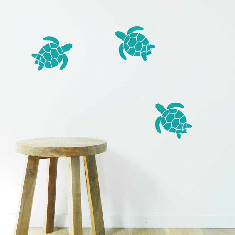 turtle wall stickers