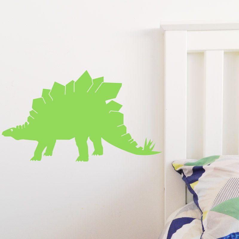 stegosaurus dinosaur wall sticker