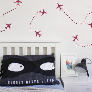 plane wall stickers