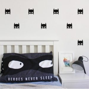 batman mask wall decals